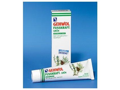 GEHWOL FUSSKRAFT Grün, 75 ml krém s deozinkem