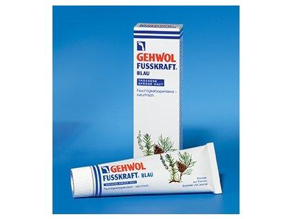 FUSSKRAFT Blau, 75 ml hydratační krém