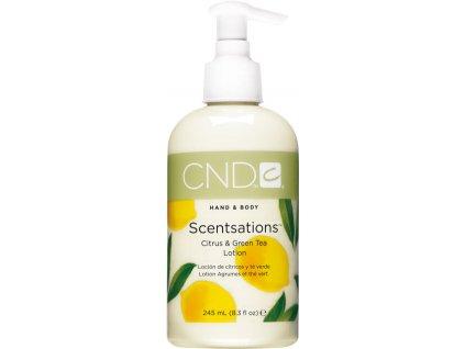 CND SCENTSATIONS™ Pleťové mléko citrus a zelený čaj (245ml)