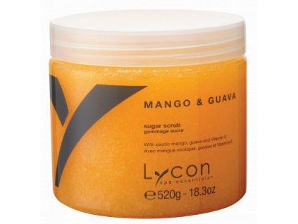 MANGO & GUAVA cukrový tělový peeling 520g