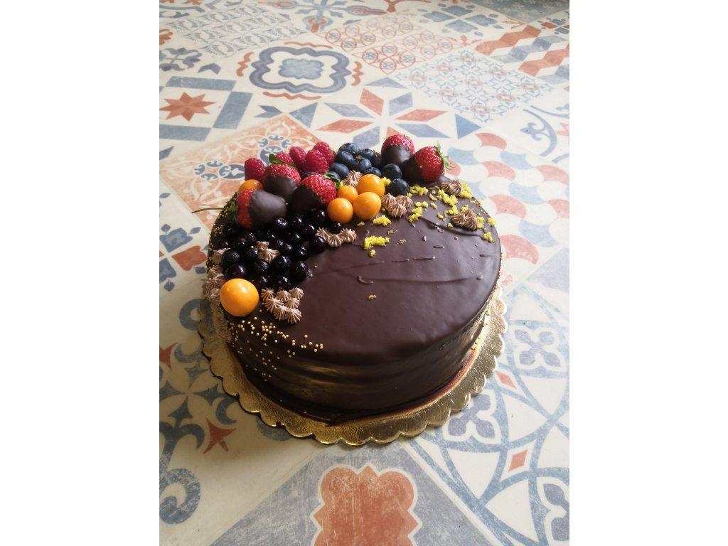 dort čokoláda