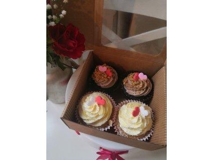 Speciální Valentýnské cupcakes