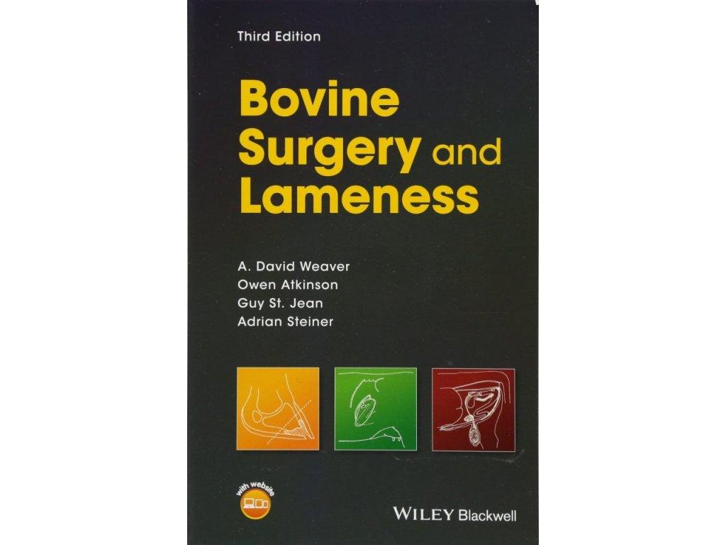 1054 bovine surgery and lameness a david weaver owen atkinson st jean guy adrian steiner