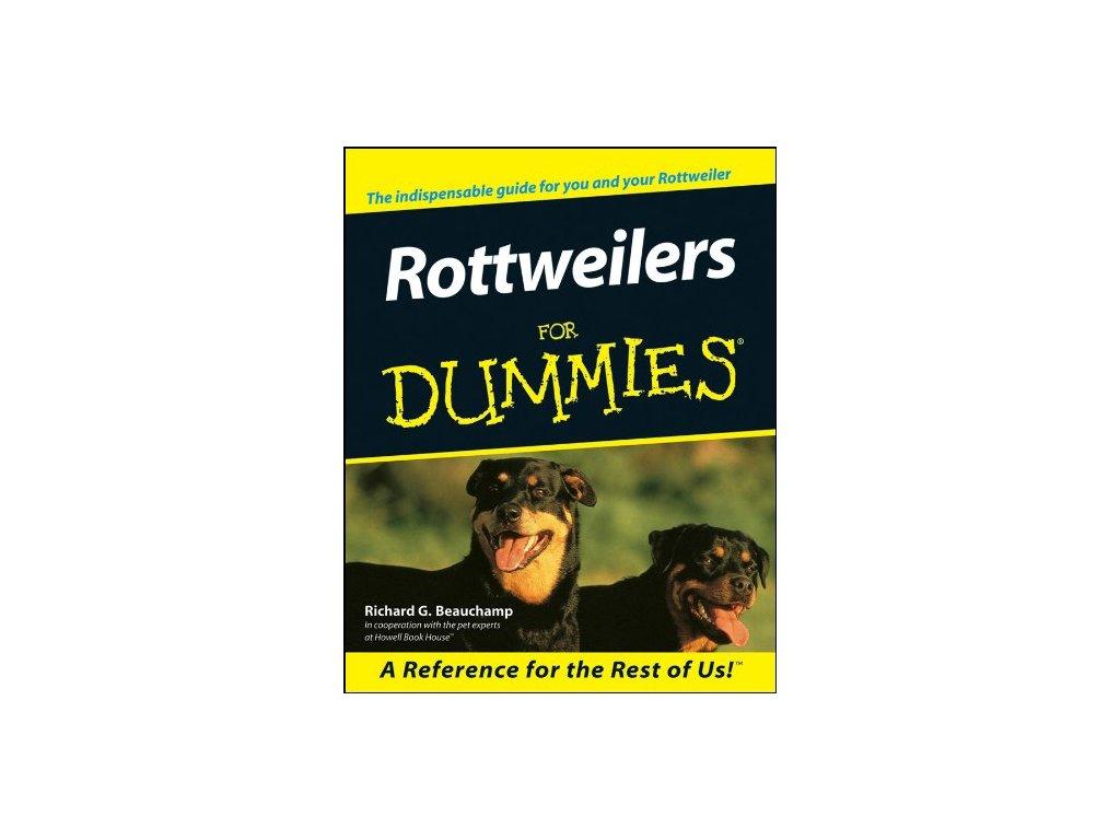 1234 rottweilers for dummies richard g beauchamp