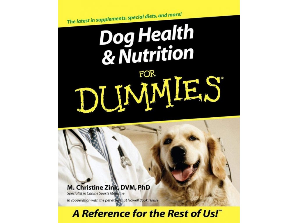 1243 dog health nutrition for dummies m christine zink