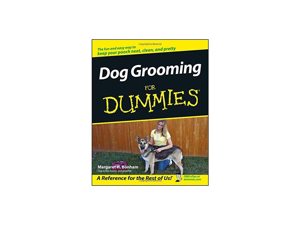 1246 dog grooming for dummies margaret h bonham