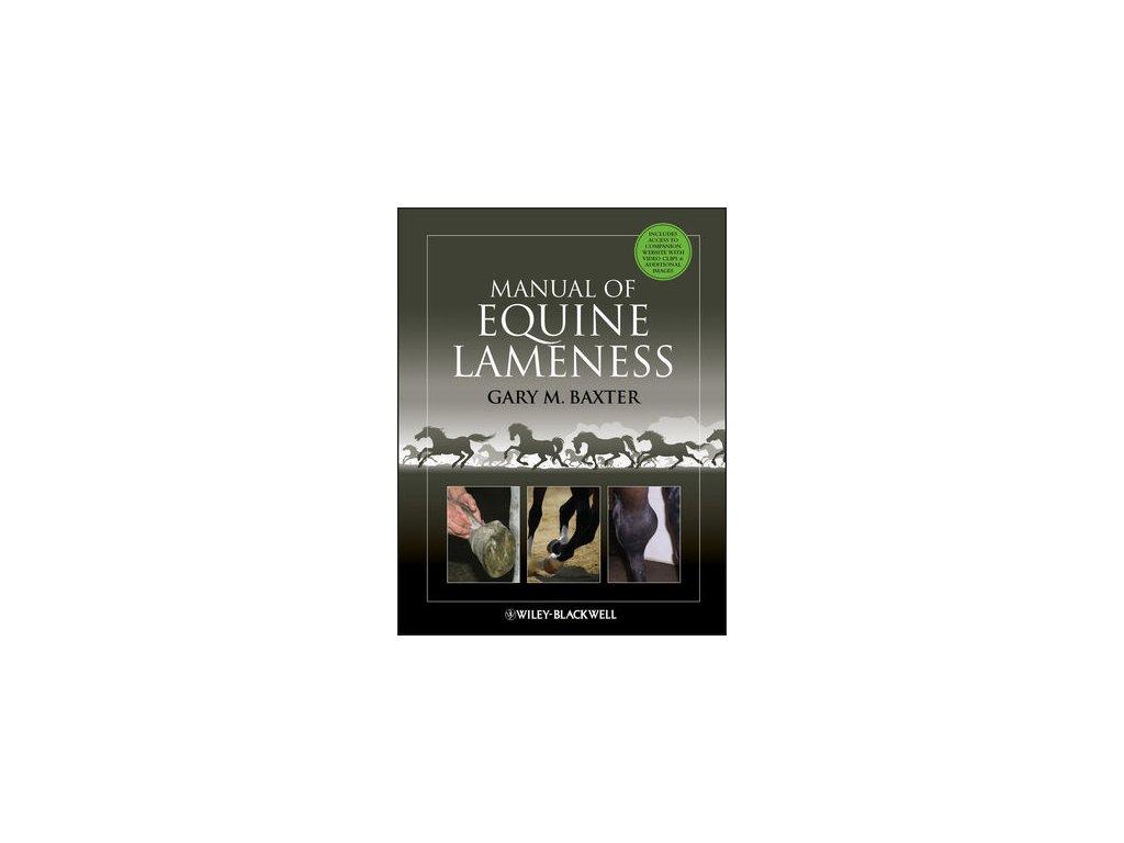 1552 manual of equine lameness gary m baxter