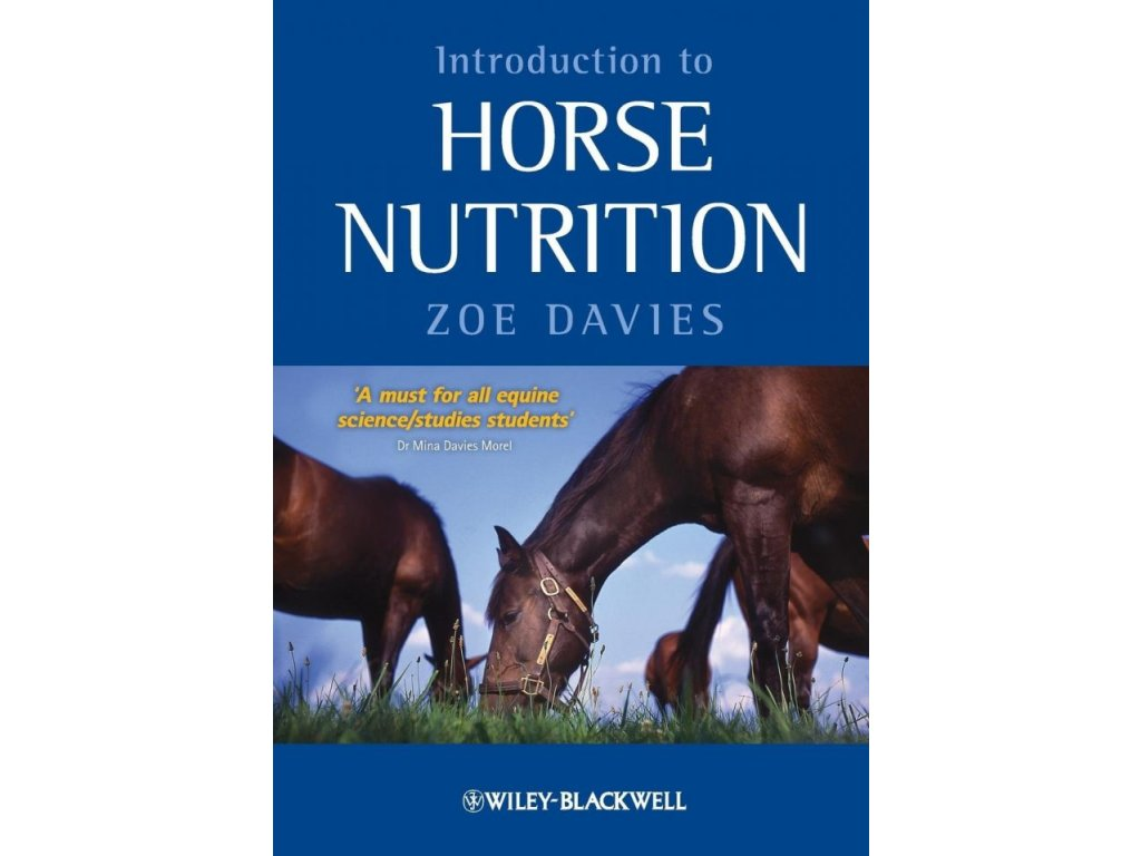 1573 introduction to horse nutrition zoe davies