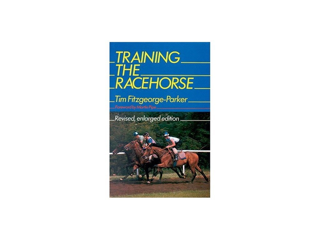 1831 training the racehorse tim fitzgeorge parker