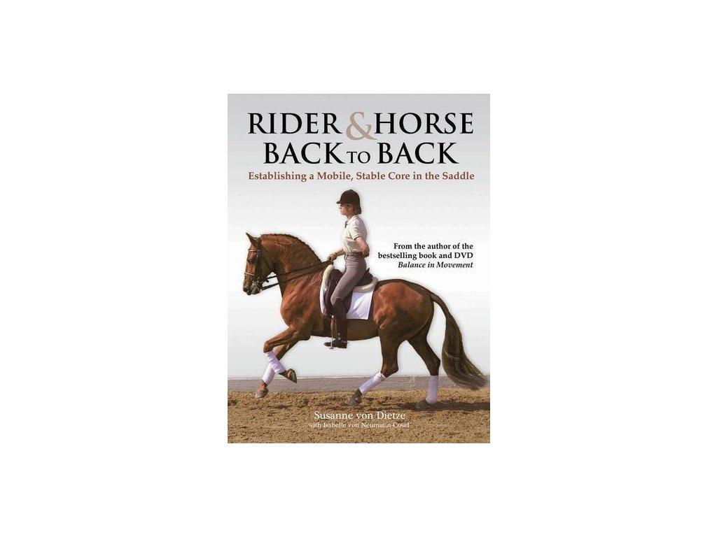 2257 rider and horse back to back susanne von dietze isabelle von neumann cosel nebe