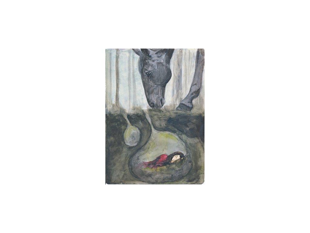 Obr. 10 – The Horse seeks me A4 (Rozměr A4)
