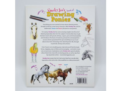 1777 smoky joe s book of drawing ponies jennifer bell