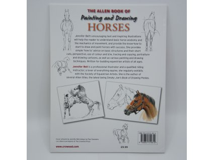 1786 allen book of painting drawing horses jennifer bell