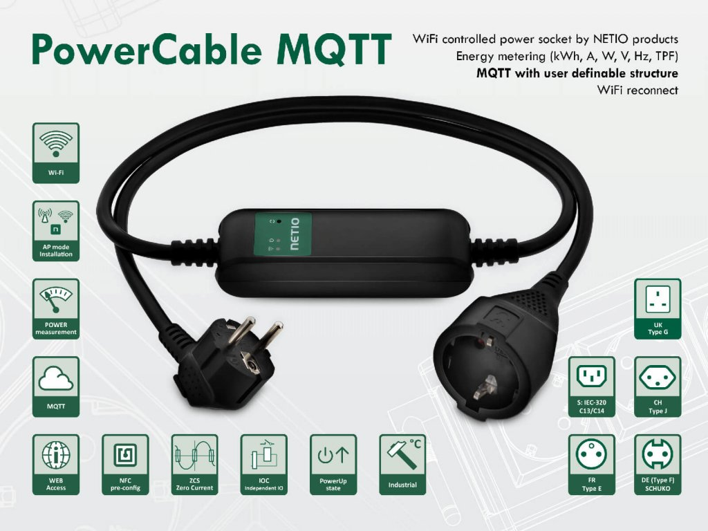 PowerCable MQTT (MQTT-flex)
