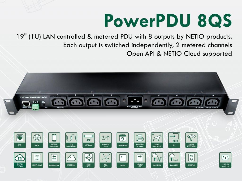 PowerPDU 8QS iFL 43 grey en
