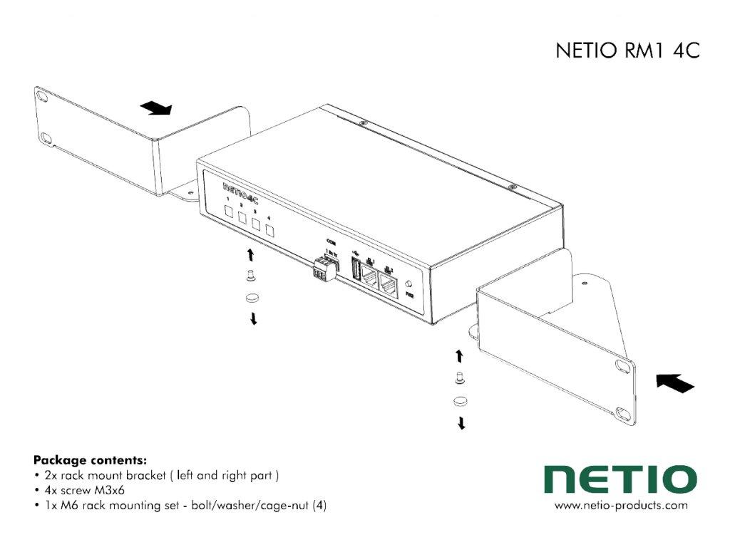 NETIO RM1 4C scheme 1200