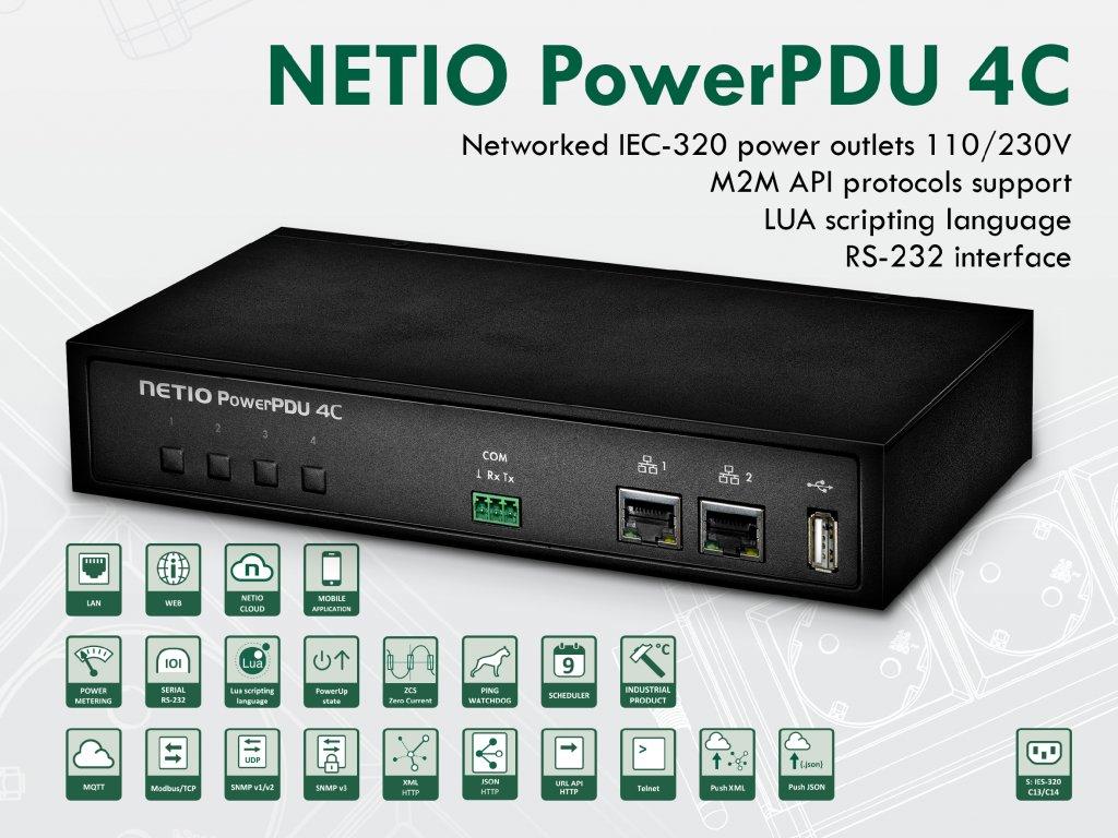 NETIO PowerPDU 4C 2020 iFL 43 en