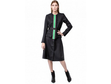 Aida Coat noire fashion