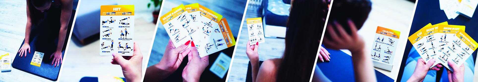 ONFIT tréninkové karty