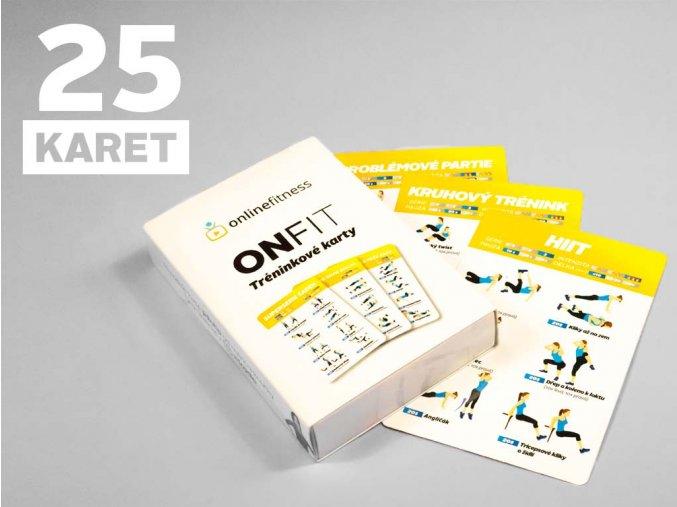 ONFIT Tréninkové karty 25