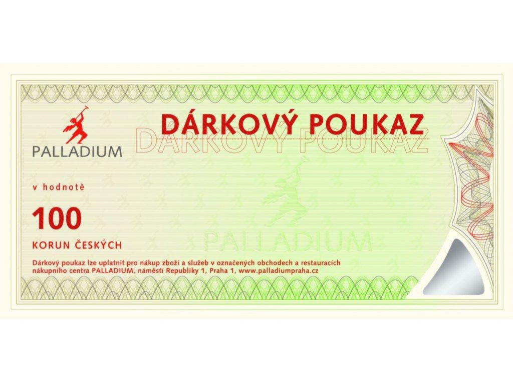 Gift voucher CZK 100