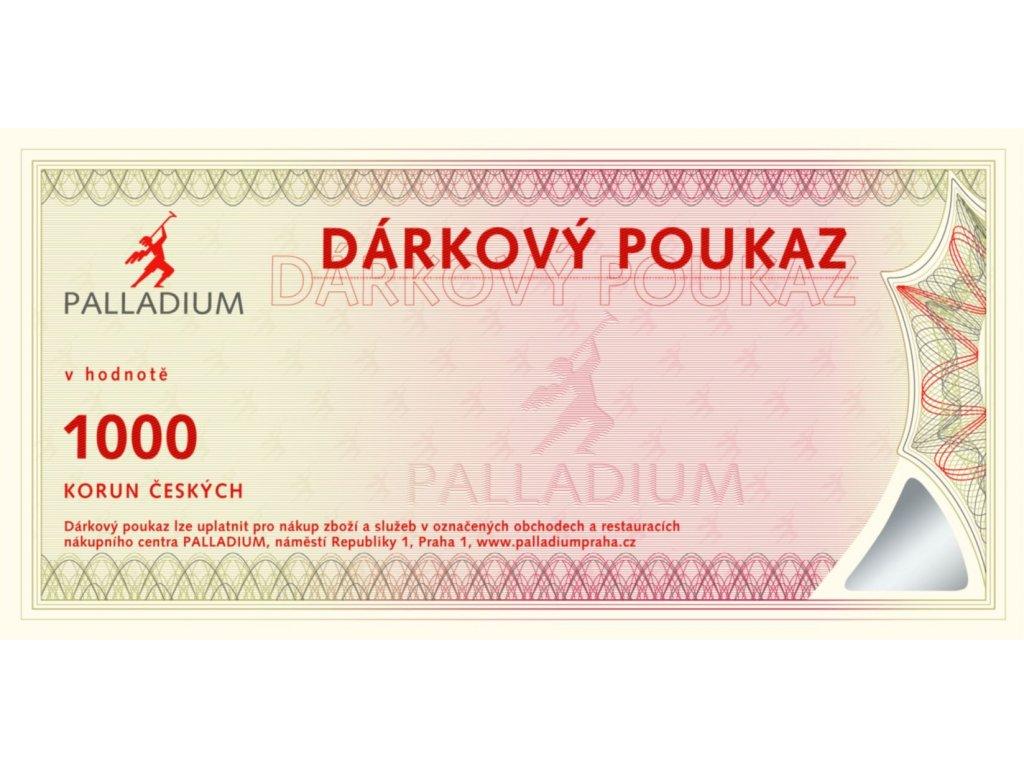 Gift voucher CZK 1000