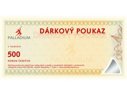 Gift voucher CZK 500