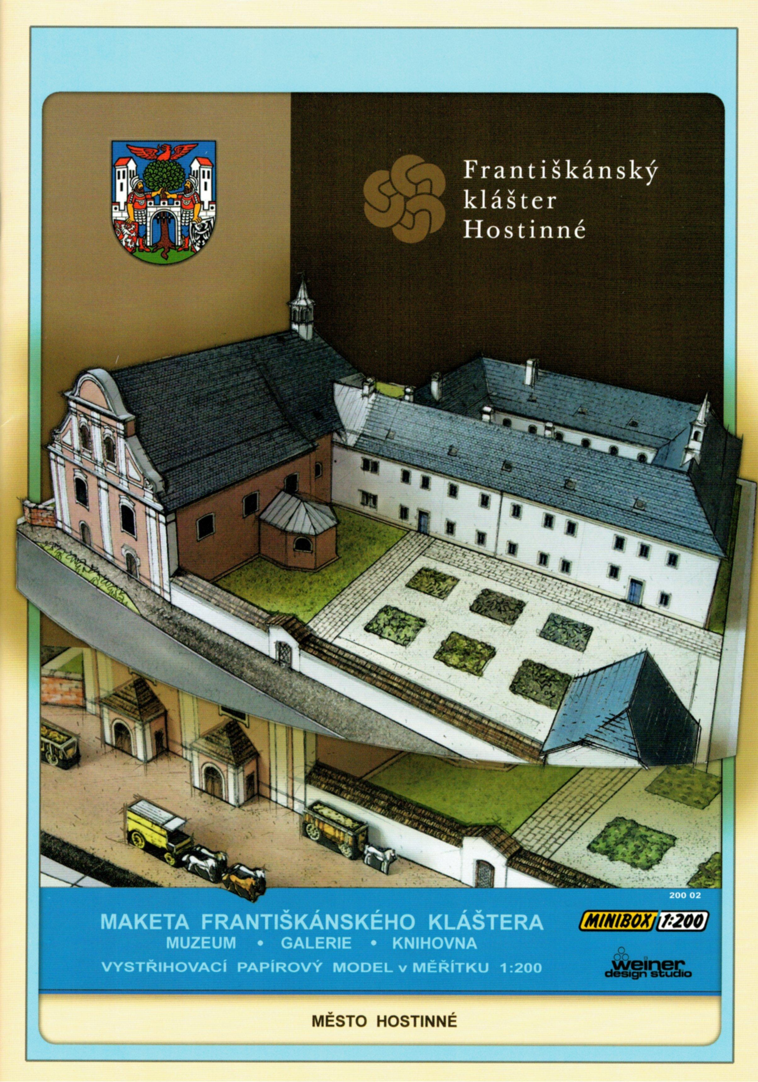 novinka / news - minibox WDS -  Františkánský klášter Hostinné