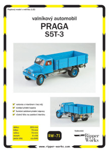 novinka na trhu - Ripper Works - Praga S5T-3