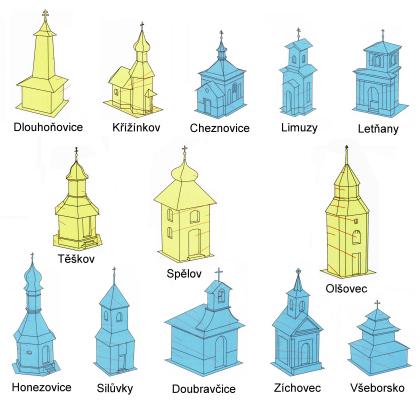 nové zboží / new goods - O. Hejl - kapličky a zvoničky