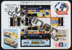 novinka / news - minibox WDS - Tatra kolem světa 2