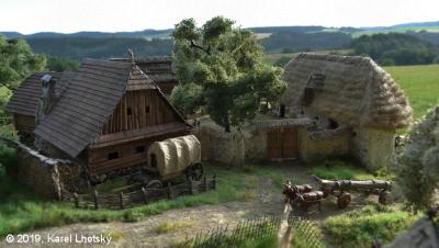 z Vaší tvorby - Karel Lhotský - rekonstrukce hradů