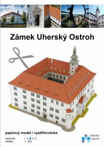 nové zboží - new goods - Zámek Uherský Ostroh