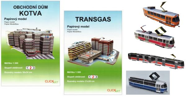 nové modely - new models - ClickArt