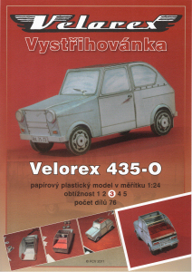 nové zboží - new goods - Velorex