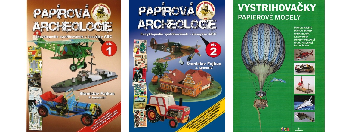 Papírová archeologie, Vystrihovačky