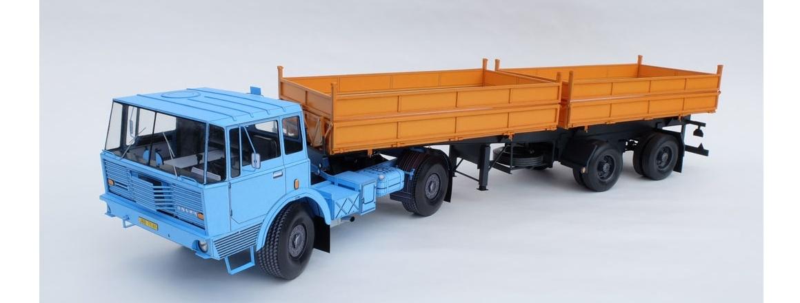 Tatra T813 NTH + 62 BSS NS2 29.21.20 - tahač návěsů + sklápěcí dvojdílný návěs - CZ Ripper Works