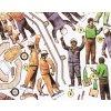 Dynapac LP 65 + dělníci ke stavebním strojům
