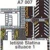 Letiště Slatina, situace 1