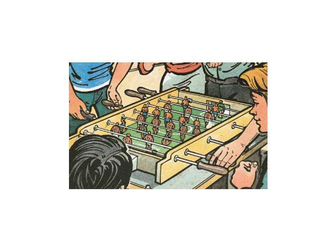 Stolní kopaná - tyčkový fotbal