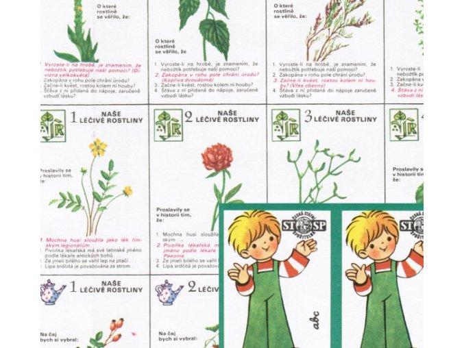 Léčivé rostliny - karetní hra