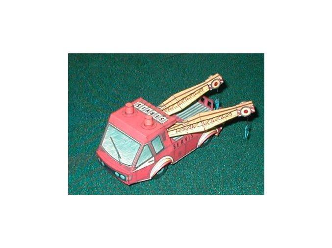 servisní a vyprošťovací automobil + figurky