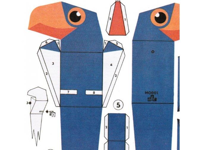 Papoušek modroušek