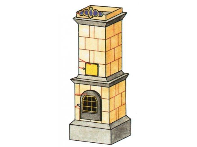 Kachlová kamna