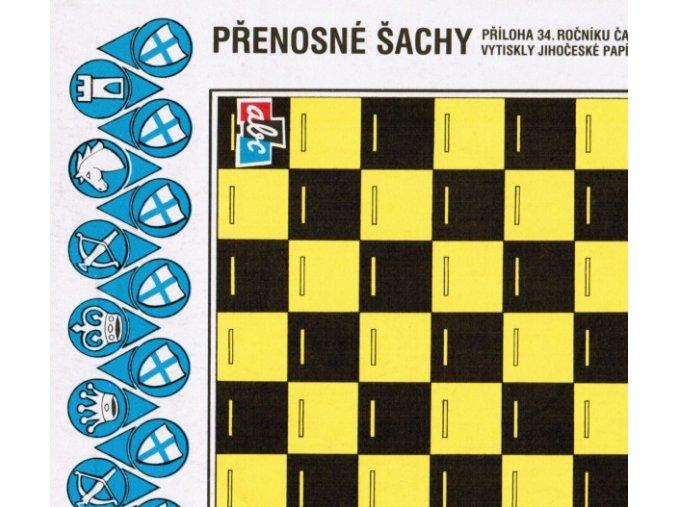 přenosné šachy