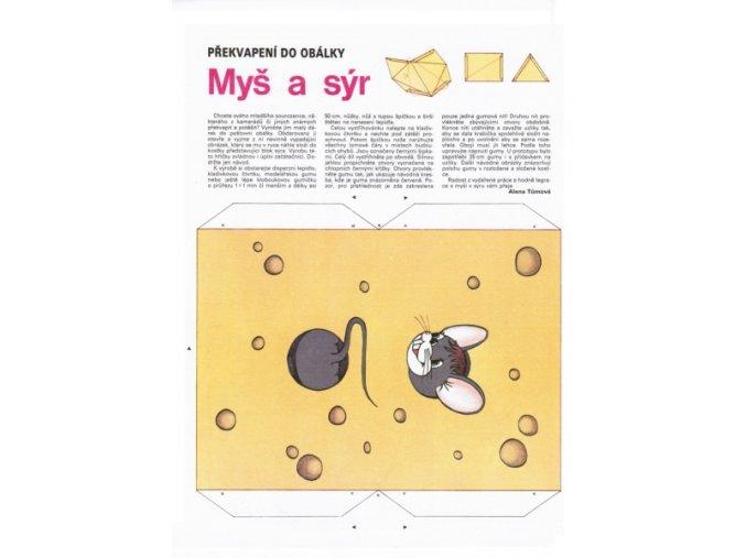 Myš a sýr