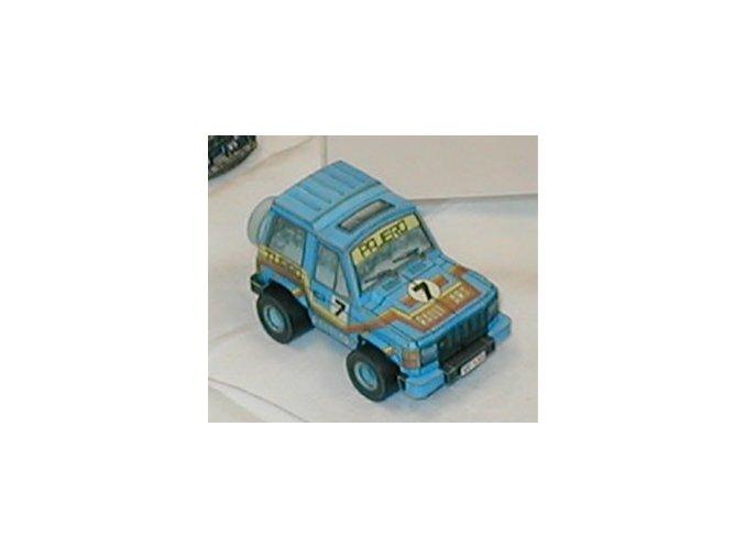 Mitsubishi Pajero Wagon 2000 Turbo XL + figurky