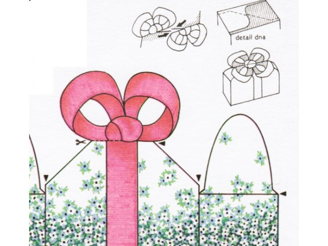 krabičky na dárek - pro radost maminkám