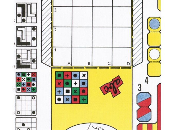Tři logické hry a hlavolam