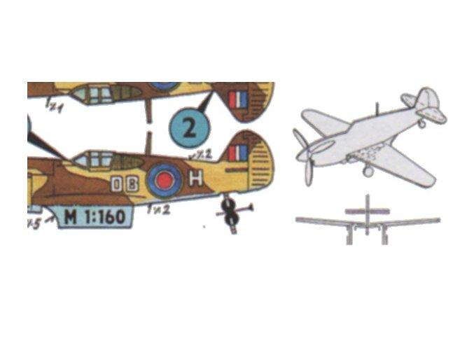 Curtiss P-40 K Warhawk